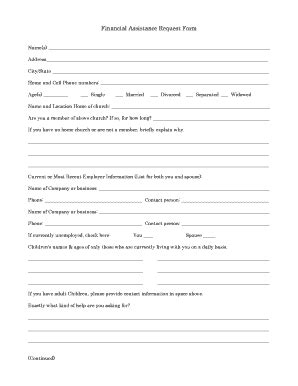 financial assistance form template progress report template project management forms