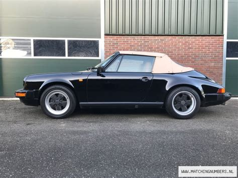 porsche contact number 1984 porsche 911 3 2 cabriolet matching numbers
