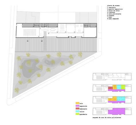 municipal floor plan municipal leisure center in tordesillas