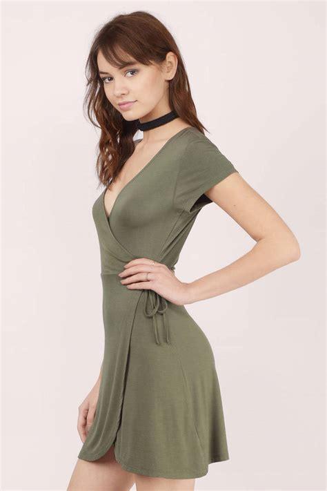 Wrap Dress - navy wrap dress blue dress draped dress 40 00