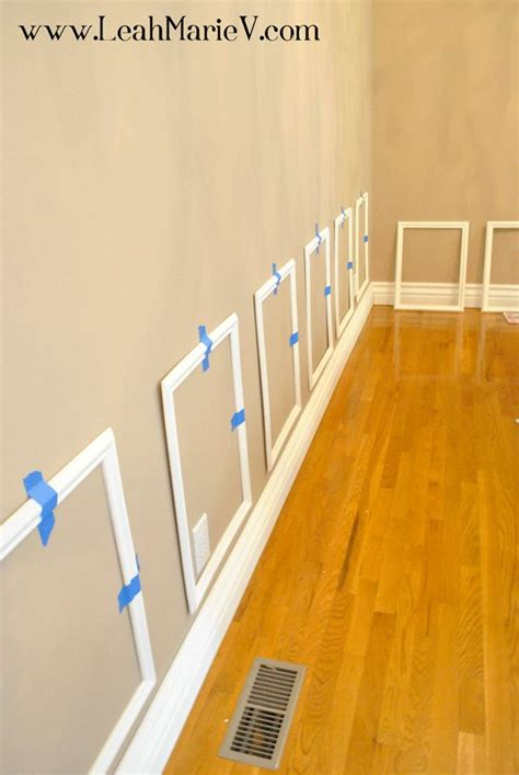 Ready Made Wainscoting by 25 Best Ideas About Picture Frame Molding On