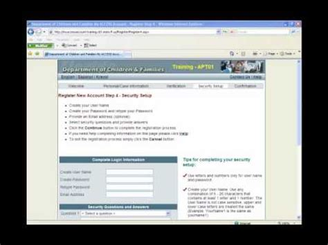 How Do I Upload Documents To My Access how to set up a new quot my access quot account