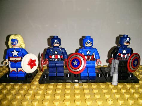 Lego Bootleg Capt America bootleg lego sheng yuan captain america