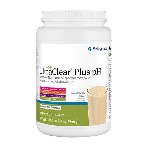 Ultraclear Plus Ph Detox by Ultraclear Plus Ph Vanilla 34 1 Oz 966 G At