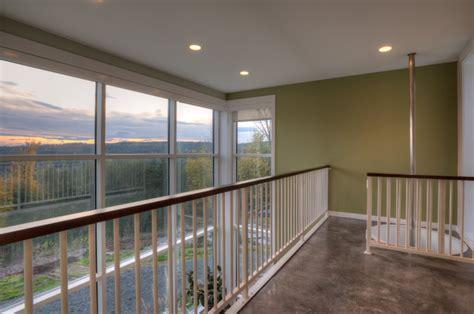 second floor loft modern hall seattle by dan nelson designs northwest architects