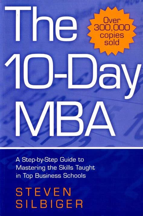 The Ten Day Mba Free by The 10 Day Mba A Step By Step Guide To Mastering The