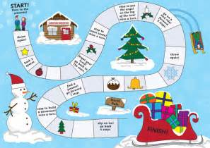christmas board game eyfs ks1 free early years