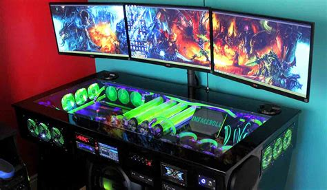 Komputer Gamer 10 most elaborate pc gaming setups of all time