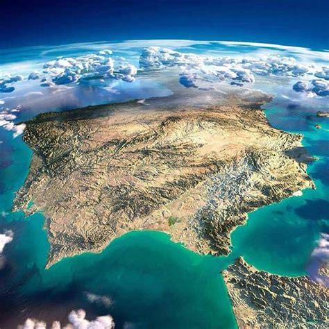 Desde El Cielo A Espana espa 241 a vista desde el espacio viajar por espa 241 a desde tu casa los mejores sitios