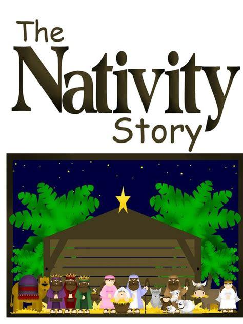 printable nativity scene story nativity the nativity and plays on pinterest