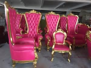 danxueya royal king throne velvet high back chairs for