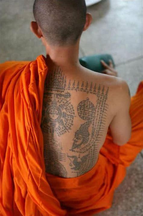 nepali tattoo 22 best buddhist monk on back
