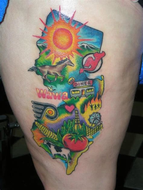 jersey tattoo 25 best ideas about new jersey on new