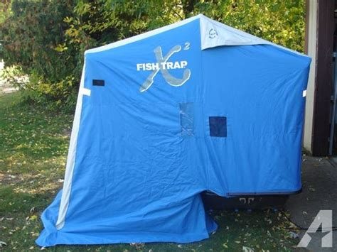 portable fish house clam x2 portable fish house for sale in backus minnesota classified
