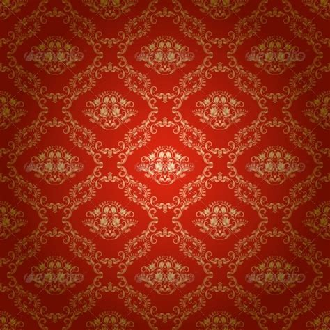 seamless royal pattern vector damask seamless floral pattern by julijamilaja graphicriver