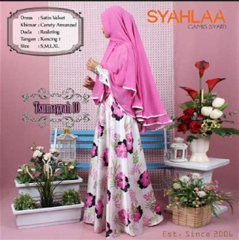 Syari Baju Muslim Keren 20 model baju muslim syari syahlaa untuk remaja terbaru