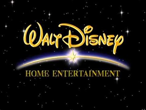 walt disney home entertainment black background