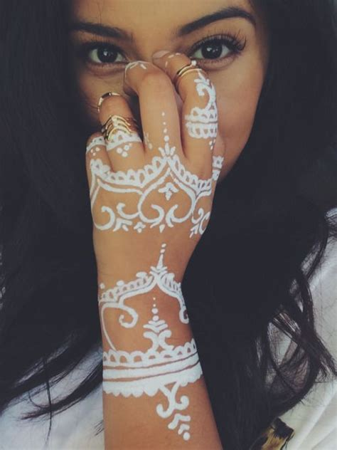 tattoo henna white white henna tattoo google search henna art pinterest