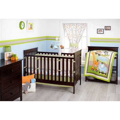 crib bedding walmart little bedding by nojo 3 little monkeys portable crib