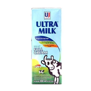Ultra Milk Slim Plain 200ml jual ultra 200 ml terbaru harga murah blibli