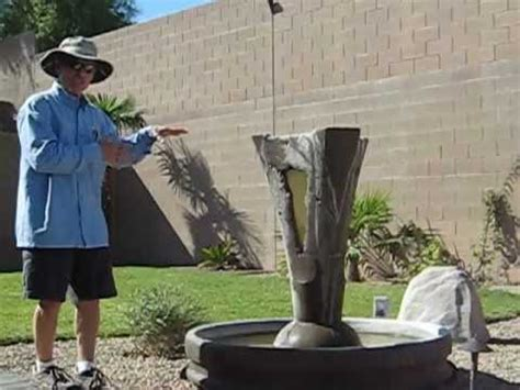 cleaning a water fountain youtube