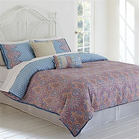 jessica simpson bedding buy jessica simpson elise paisley king comforter set from