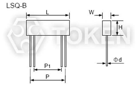 four terminal current sense resistor 4 terminal current sensing resistor lsq token components