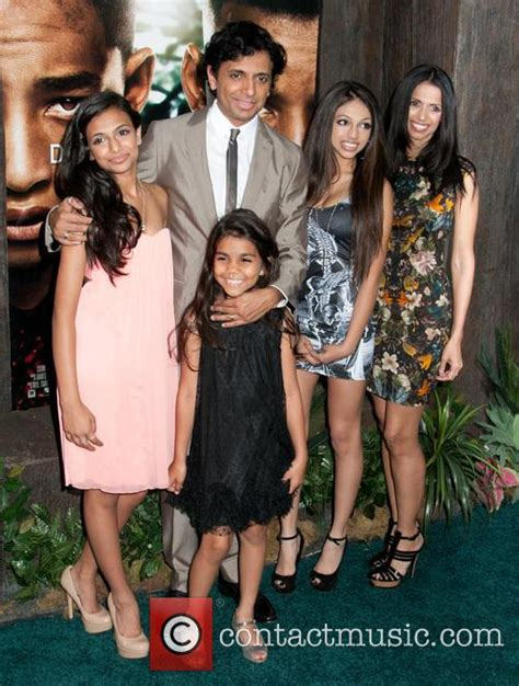 M Night Shyamalan - After Earth Premiere | 3 Pictures ... M Night Shyamalan Family
