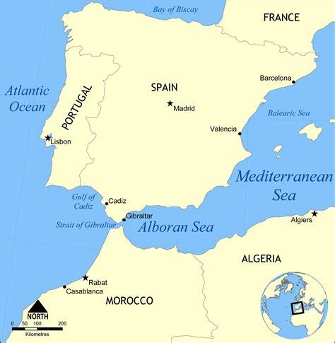 sea map file alboran sea map png