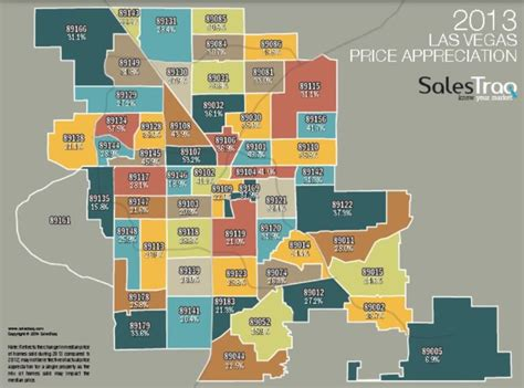 printable zip code map of las vegas las vegas appreciation by zip code real estate las vegas