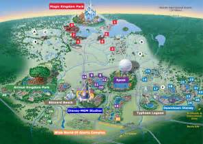Disneyland Orlando Map by Five Things You Don T Know About Disneyworld