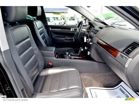 volkswagen touareg interior 2004 2004 volkswagen touareg v8 interior color photos