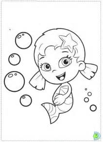 bubble guppies coloring dinokids org
