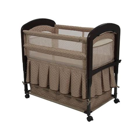 arm s reach co sleeper cambria bassinet toffee baby