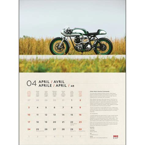 Custom Wall Calendars Custom Motorcycles Deluxe Wall Calendar 9781937747480