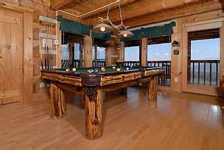 branch brook pool tables cloud nine cabin 310 luxury chalet in pigeon forge