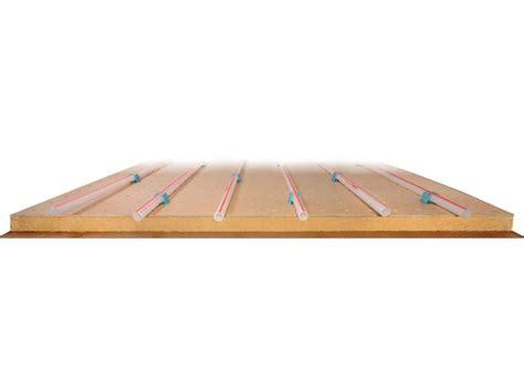 pannello radiante pavimento pannello radiante a pavimento in fibra di legno ecoplus by