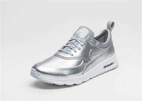 nike air silver nike wmns air max thea metallic metallic silver