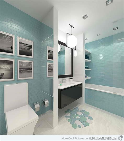 black and white bathroom accent color 15 turquoise interior bathroom design ideas decoration