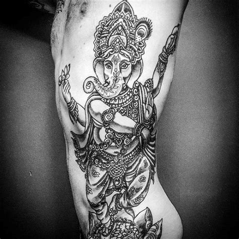 ganesh tattoo ribs 90 ganesh tattoo designs for men hindu ink ideas