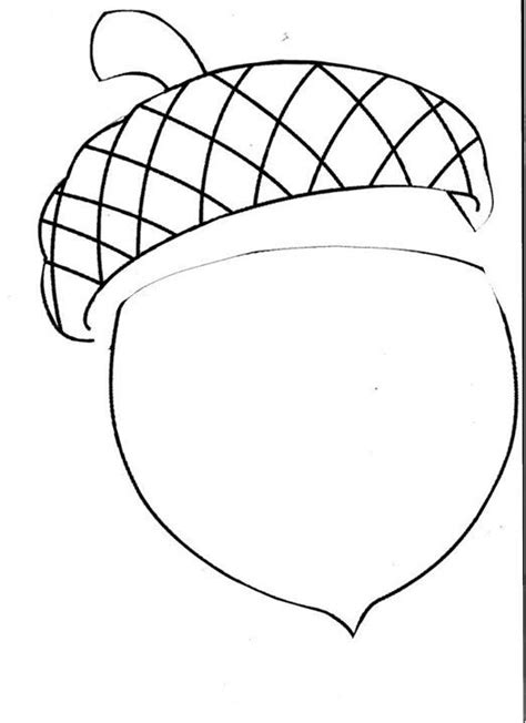 color pattern templates acorn coloring pattern coloring pages