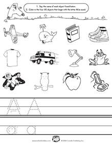 initial sounds coloring worksheets