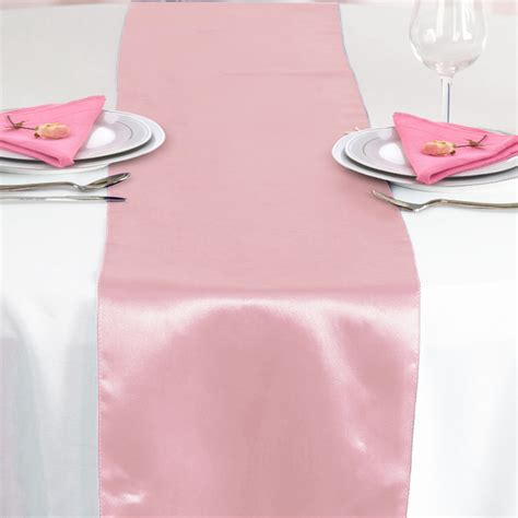 12 quot x108 quot satin table runner wedding table runners