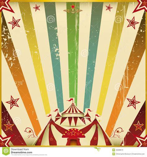 fond fantastique de place de cirque de couleur photo stock
