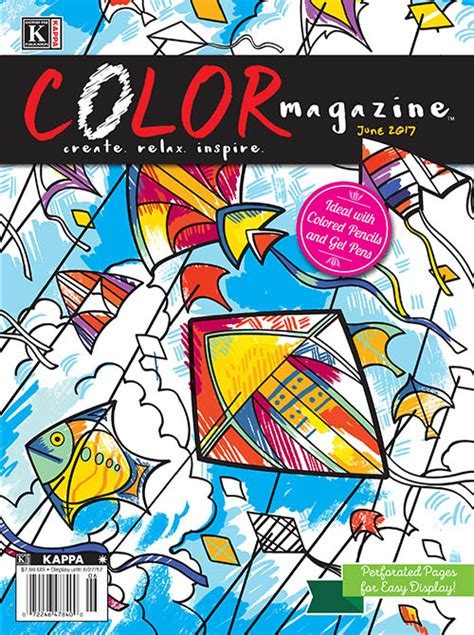 color magazine kappa publishing coloring