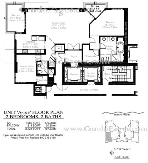 las olas beach club floor plans las olas beach club floorplans quot a rev quot