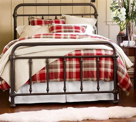 pottery barn metal bed coleman bed pottery barn bed rooms pinterest twin