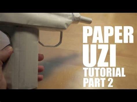 How To Make A Paper Mp5 - how to make a paper mp5 part 2 doovi