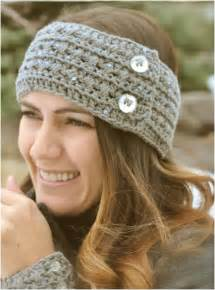 Ree crochet headband and cuff pattern