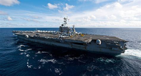 portaerei americane stati uniti pronti ad inviare contemporaneamente 3